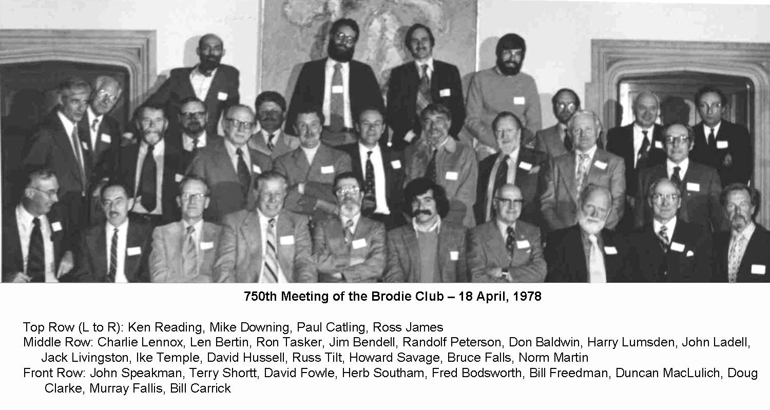 750th with names 1978